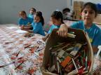 Projeto Passarte recebe doação de 12 toneladas de materiais de papelaria Fernando Gomes/Agencia RBS