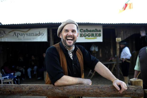 César Oliveira é escolhido patrono da Semana Farroupilha Luiz Armando Vaz/Agencia RBS