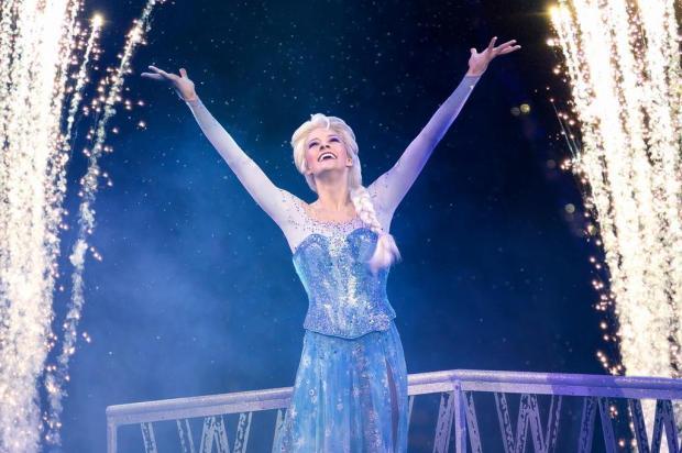 """""""Frozen"""" é o número mais esperado do """"Disney on Ice"""": """"Elsa é rockstar"""", diz coreógrafa Feld Entertainment/Divulgação"""