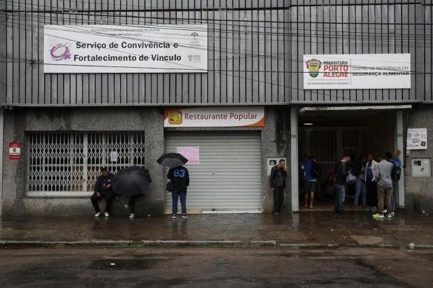 Reunião na Câmara de Vereadores discute o fechamento do Restaurante Popular Mateus Bruxel/Agencia RBS