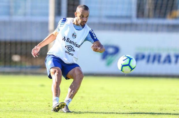 Luciano Périco: Thaciano ganhou pontos para assumir titularidade no Grêmio Lucas Uebel/Grêmio,Divulgação