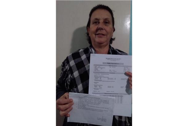 Após dois anos de espera, moradora de Cidreira consegue fazer exame LeitorDG / Arquivo Pessoal/Arquivo Pessoal