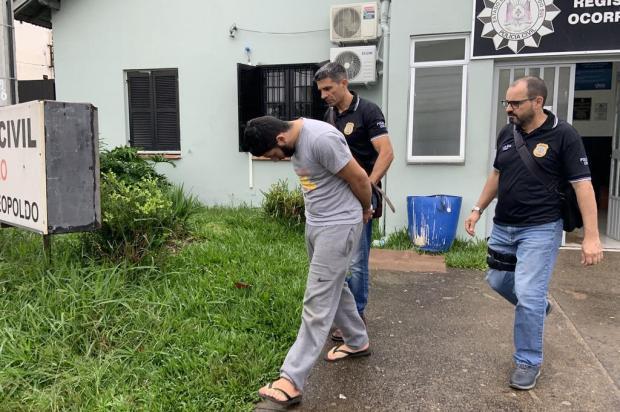Como foi a prisão do homem apontado como um dos matadores de pai e filho em Estância Velha Tiago Boff/Agência RBS
