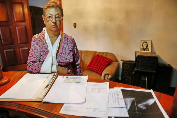Idosa de Gravataí está há mais de quatro anos à espera de cirurgia Robinson Estrásulas/Agencia RBS
