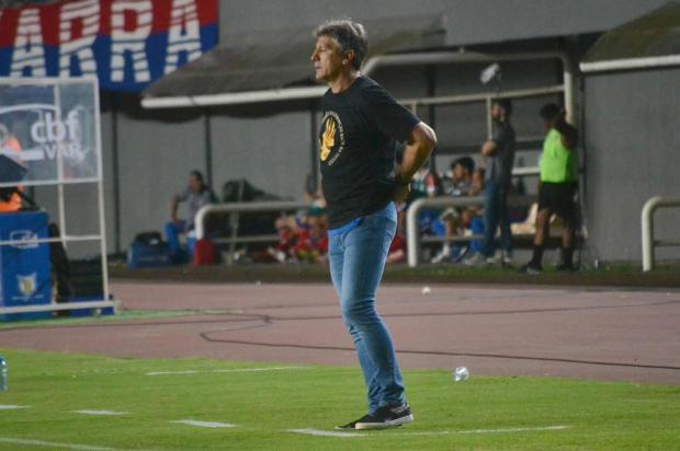 Cacalo: Renato tem de reinventar a forma de jogar da equipe do Grêmio Romildo de Jesus/Futura Press/Folhapress