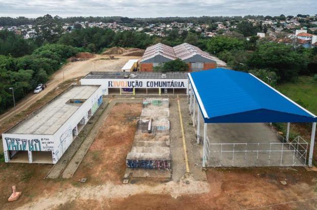Obra do CEU da Lomba deve recomeçar em um mês Omar Freitas/Agencia RBS
