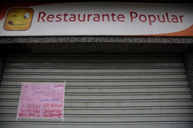 Três restaurantes populares devem abrir na Capital, edital previa seis estabelecimentos Mateus Bruxel/Agencia RBS
