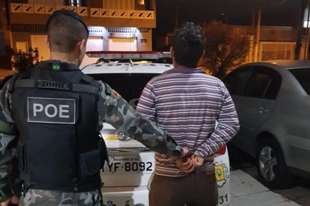 Réu por envolvimento em assalto com morte de pai e filho em Estância Velha é preso Brigada Militar/Divulgação