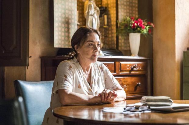 """""""Tive que ser a dona do meu pedaço"""", relembra Nivea Maria sobre fim de casamento de 30 anos Paulo Belote/TV Globo/Divulgação"""