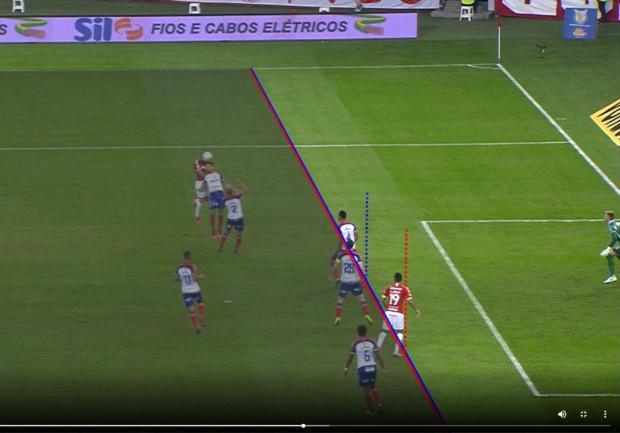 Lelê Bortholacci: só paranoicos não acreditam que gol do Inter validado pelo VAR foi legal Reprodução / CBF/CBF