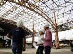 Canteiro de obras do Terminal Triângulo só começa a ser montado na próxima semana Mateus Bruxel/Agencia RBS