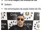 Preso cria perfil falso e se passa por delegado para aplicar golpes de dentro da penitenciária de Charqueadas Facebook/Reprodução