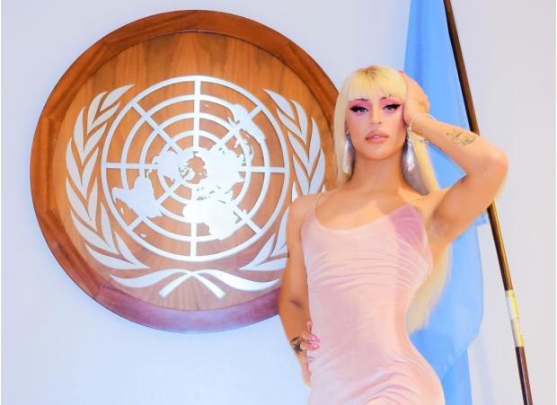 Pabllo Vittar canta na ONU durante homenagem à rainha Elizabeth II Instagram / Reprodução/Reprodução