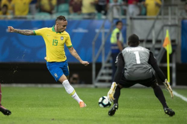 Luciano Périco: chegou a vez de Everton na Seleção Brasileira Lucas Figueiredo / CBF/Divulgação/CBF/Divulgação