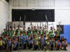 Alunos de projeto que oferece aulas gratuitas de tiro com arco ganham destaque em competições nacionais Marco Favero/Agencia RBS
