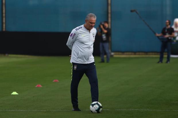 Guerrinha: Paraguai não causa nenhum medo na Seleção Brasileira Jefferson Botega / Agência RBS/Agência RBS