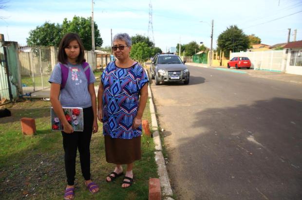 Transporte escolar paralisado preocupa família, em Canoas Tadeu Vilani/Agencia RBS