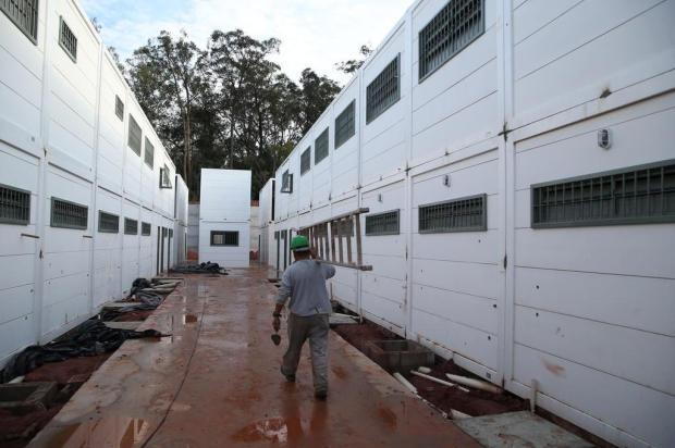 Empresa anuncia conclusão das obras do presídio de Sapucaia do Sul Fernando Gomes/Agencia RBS