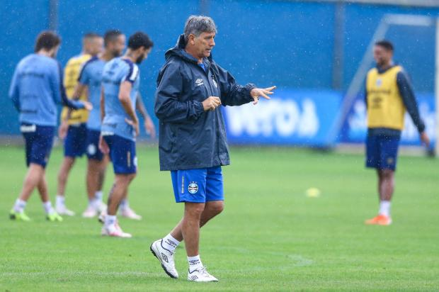 Guerrinha: contra o Bahia, Renato não deve repetir a escalação usada em jogo-treino Lucas Uebel / Grêmio FBPA/Grêmio FBPA