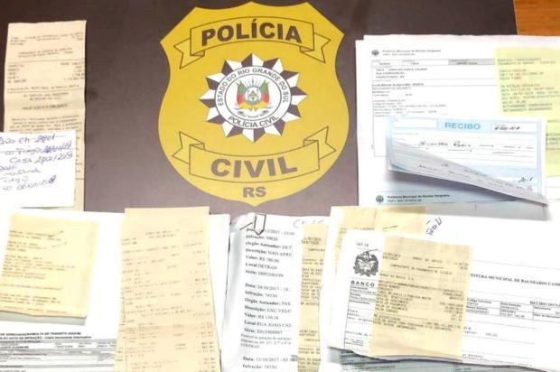 Polícia indicia nove por aplicar golpes do cartão trancado e do bilhete premiado em Cachoeirinha Polícia Civil/Divulgação