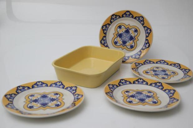 Junte & Ganhe: coleção Bela Família Jantar tem duas opções de cores e combina com Bela Família Café Lauro Alves/Agencia RBS