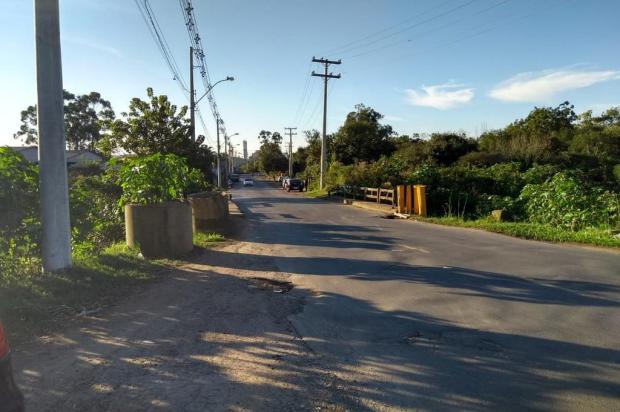 Ponte danificada preocupa moradores dos bairros Fátima e Mato Grande, em Canoas Arquivo Pessoal/Arquivo Pessoal