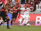 Inter leva gol no fim e perde para o Athletico-PR pelo Brasileirão Ricardo Duarte/SC Internacional