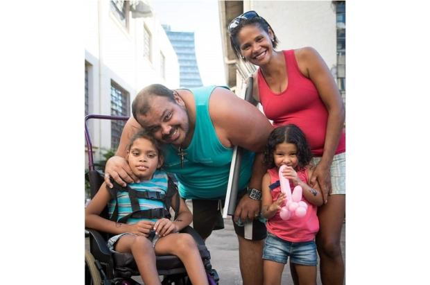 Família faz vaquinha para voltar para casa no Espírito Santo LeitorDG / Arquivo Pessoal/Arquivo Pessoal