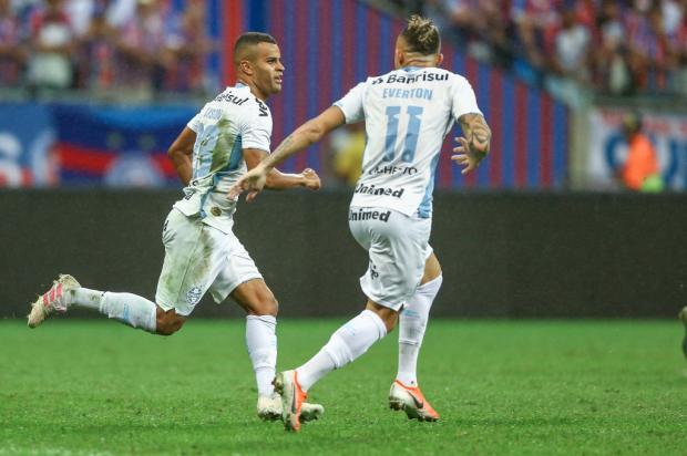 Passou o melhor na Fonte Nova Lucas Uebel / Grêmio FBPA/Grêmio FBPA
