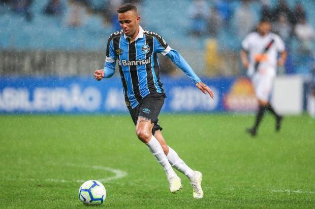 Cacalo: como pode Luan ficar fora de partidas decisivas do Grêmio e agora jogar amistoso? Lucas Uebel/Grêmio,divulgação