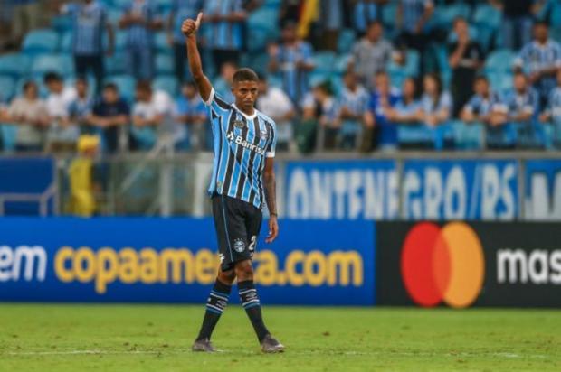Filipe Gamba: Jean Pyerre precisa de orientação Lucas Uebel  / Grêmio/Divulgação/Grêmio/Divulgação