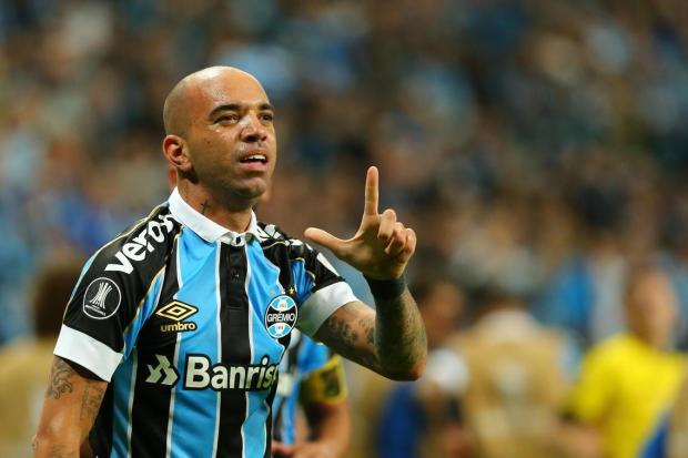 O Grêmio está com a mão na vaga às quartas de final da Libertadores Marco Favero/Agencia RBS