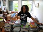 Pedagoga faz vaquinha para construção de biblioteca comunitária no Princesa Isabel Tadeu Vilani/Agencia RBS