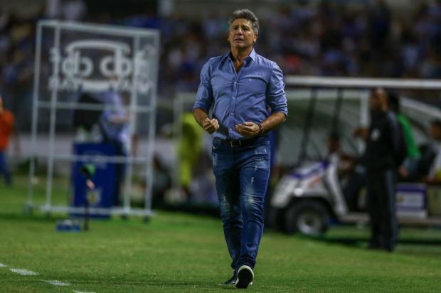 O Grêmio volta a pensar na Libertadores, onde está com a faca e o queijo na mão para garantir a vaga Lucas Uebel/Gremio.net