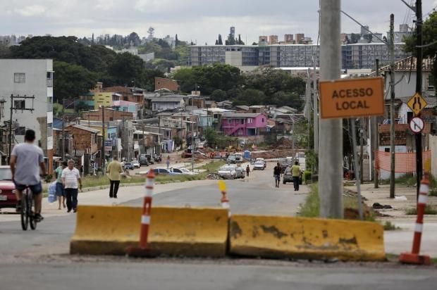 Duplicação da Avenida Tronco para por falta de dinheiro Mateus Bruxel/Agencia RBS