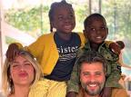Publicada primeira foto de Bless, filho adotivo de Giovanna Ewbank e Bruno Gagliasso Reprodução / Instagram/Instagram