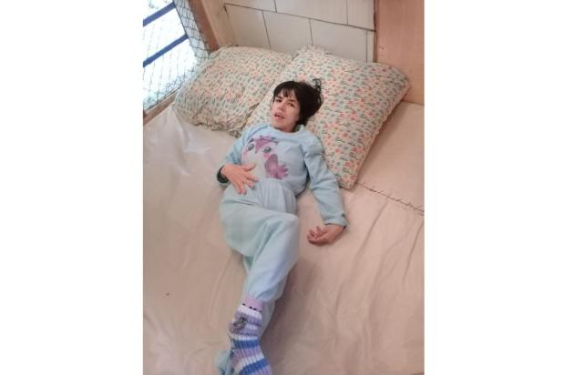 Porto Alegre: jovem com paralisia cerebral não recebe fraldas geriátricas de posto de saúde LeitorDG / Arquivo Pessoal/Arquivo Pessoal