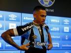 Luciano chega ao Grêmio com status para assumir a titularidade Robinson Estrásulas/Agencia RBS