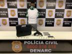 Foragido que assumiu o comando do tráfico em bairro da zona leste é preso em condomínio de Porto Alegre Polícia Civil  / Divulgação /Divulgação
