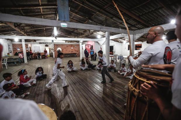 Associação de Viamão oferece aulas gratuitas de capoeira para crianças Marco Favero/Agencia RBS