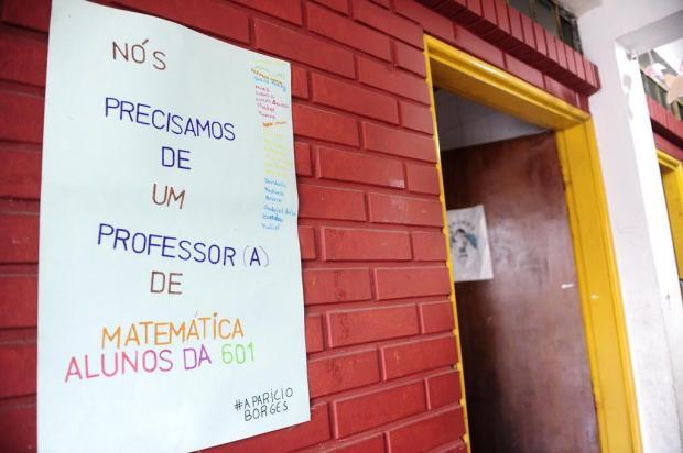 Falta de professor de matemática prejudica cerca de 500 alunos em escola da Capital Ronaldo Bernardi/Agencia RBS