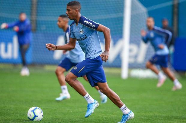 Luciano Périco: titular absoluto, Jean Pyerre segue fora de combate no Grêmio Lucas Uebel/Grêmio/Divulgação