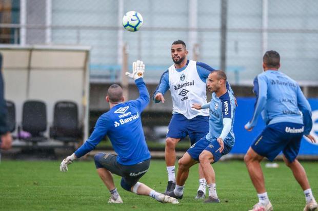 Luciano Périco: o verbo marcar tem sido mal conjugado pelos jogadores do Grêmio Lucas Uebel/Grêmio/Divulgação