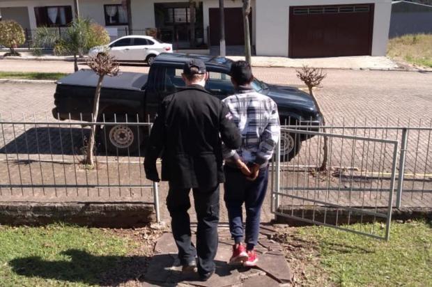 Homem é preso por morte de idoso vítima de infarto em assalto na Região Central Polícia Civil/Divulgação
