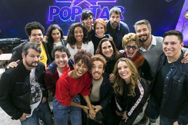 """Atores, jornalista e goleiro: participantes do """"PopStar"""" falam sobre estreia do reality musical Paulo Belote / TV Globo / Divulgação/TV Globo / Divulgação"""