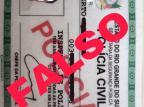 Estelionatários falsificam documento de policial civil para aplicar golpes dos nudes e do falso depósito /