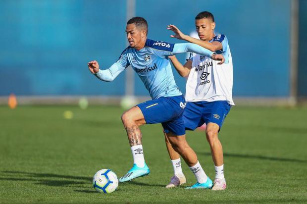 Cacalo: questão emocional fará os jogadores atuarem com um canto de olho na Libertadores Lucas Uebel/Grêmio/Divulgação