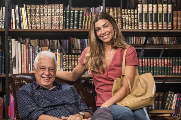 """Michele Vaz Pradella: """"Ligue a TV e leia um livro"""" Victor Pollak/TV Globo/Divulgação"""