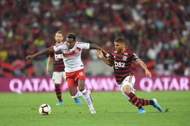 Gustavo Manhago: o Inter inexistiu no ataque até tomar os dois gols Ricardo Duarte/Divulgação / Internacional