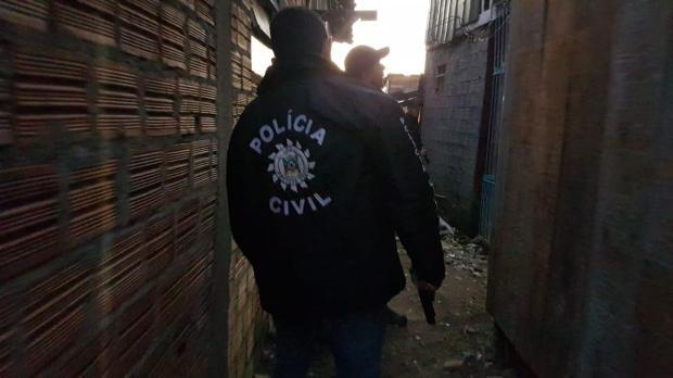 Líder comunitário era um dos alvos de operação policial na Vila Nazaré e está foragido Polícia Civil / Divulgação/Divulgação